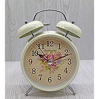 MEILI Wecker-Uhr der metallischen Retro- Weckerglocken-kreativen Studentengeschenke faule Uhrwohnzimmer-Uhrdekoration preisvergleich bei billige-tabletten.eu