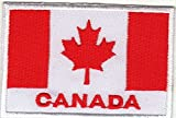 Patch ricamato su Sew on applicazione Canada Country bandierine grandi dimensioni