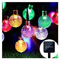 Mr.Twinklelight®LED Solar Lights | 30 LED 4.5M Waterproof Festival Lights Celebrate Wedding|Birthday|Christmas Party Solar String Lights(Multi-Color)