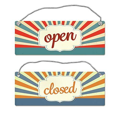 trendaffe - Open oder Closed Wendeschild mit Kordel -