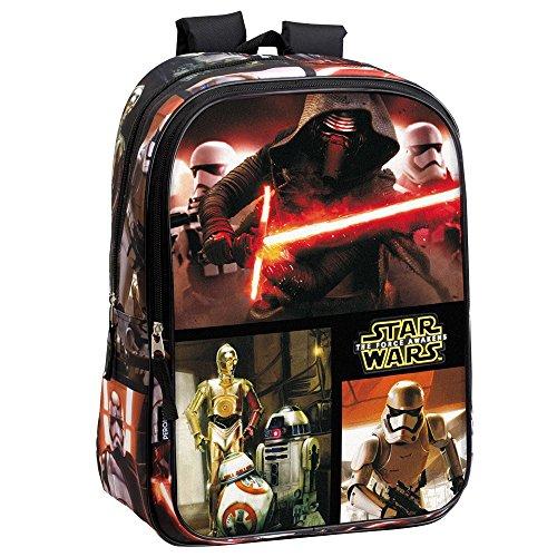 Acheter en ligne Star Wars 43cm VII La Force réveille Epic Kylo Ren/Stormtrooper et droïdes cm Sac à Dos (L, Noir)