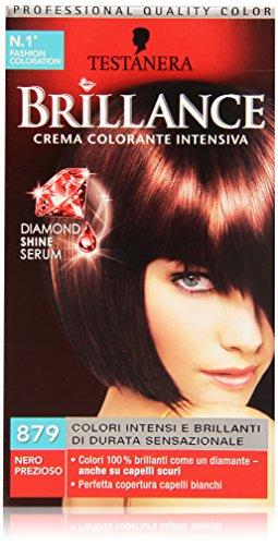 Testanera - Brillance, Crema Colorante Intensiva, 879 Nero Prezioso