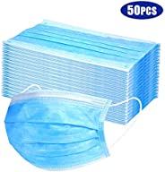 Protective Face Muzzles Non-woven Anti-Particle Anti-droplet Anti-pollen Dust-proof Breathable Dustproof Face