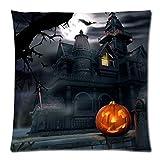 VEMOW Heißer 2 STÜCK Happy Halloween Party Dekoration Kissenbezüge Leinen Sofa Kissenbezug Wohnkultur 18