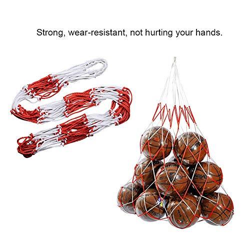 Mesh-Ausrüstungs tasche Ballbag Große Kapazität Für 20 Fußballbälle Rucksack Für Fußball Basketball-Schwimmbecken-Spielzeug Leicht Zu Transportieren Und Halten Ihre Sportbekleidung Organisiert