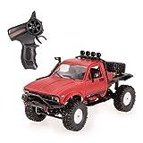 Goolsky WPL C14 1/16 2.4GHz 4WD RC Crawler Off-Road Semi-truck Car con faro RTR