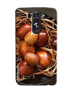 Omnam Bunch Of Eggs Printed Designer Back Cover Case For LG G3 Beat