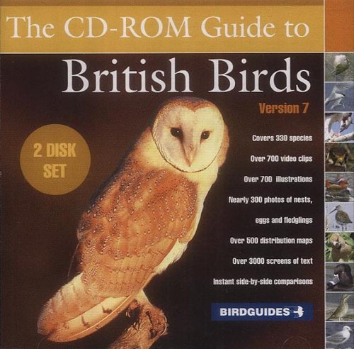 The CD-ROM Guide to British Birds 7.0 (2 Disk Set) Test