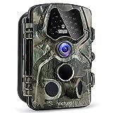 """Victure Wildkamera Fotofalle 12MP 1080P Full HD Jagdkamera 120�Weitwinkel Vision Infrarote 20m Nachtsicht Wasserdichte IP66 �berwachungskamera mit 2.4"""" LCD Display Bild"""