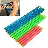 Kicode Slide-On Bag Sealer Sticks Chip-Clips Plastic Bag Sealer-Stick Zum Lebensmittel mit einem Gehalt Kräuter.