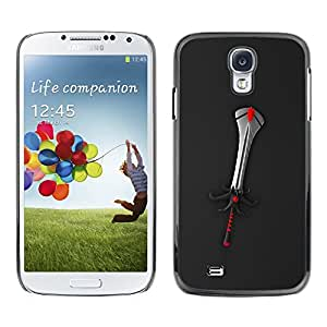 Omega Covers - Snap on Hard Back Case Cover Shell FOR SAMSUNG GALAXY S4 - Fantasy Sword