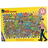 Where's Wally 1,000 piece puzzle - Wild West