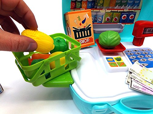 Brigamo 560 – Spielzeug Bio Kaufladen to go im Koffer - 3