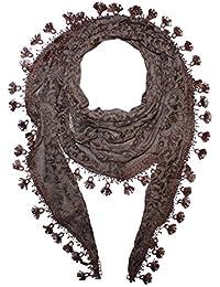 Superfreak® Dreiecktuch mit Blumen Muster ° Tuch ° Schal ° Halstuch ° alle Farben!!!