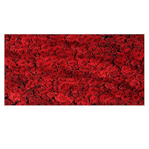 BBQBQ Quadratisches Badetuch Sommer Quadratisches Badetuch für Frauen Multifunktions-Sonnenschutzschal Rose 150 * 75cm
