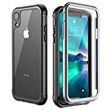 iPhone XR Case,Built-in Screen Protector Cover 360 Degree