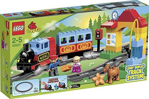 Lego- Primo Treno Costruzioni Gioco Bambina Giocattolo 144, Multicolore, 5702014973336