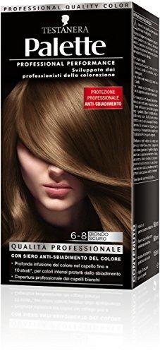 teinture pour les cheveux 6-8 blond sombre