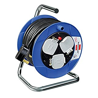 Brennenstuhl 1078183004 Cable Reel, Black