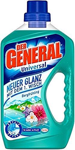Der General Universal Bergfrühling Allzweckreiniger, 750ml Flasche