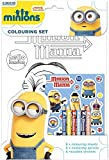 Minions Mania Colouring Set Kids Activity Stickers Stocking Filler Gift