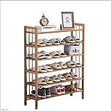 XRFHZT Schuhregal Mehrschichtig Einfachen Haushalt Platzsparende Schuhschrank Montage Staubdicht Schlafsaal Regal,80Cm*26Cm*100Cm