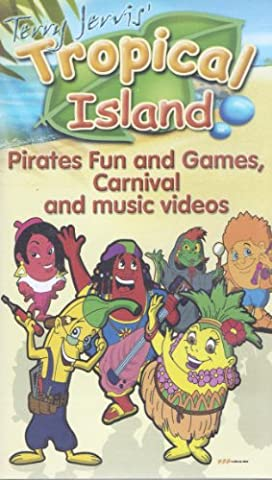 Terry Jervis' Tropical Island - Pirates Fun & Games. Carnival & Music Videos (VHS) 2004