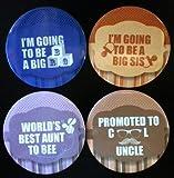Baby Shower Badges Set No. 2