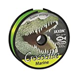 Angel Ficelle mer Ficelle Jaxon Crocodile Marine Fluo/Jaune 300m bobine fil monofibre neuf et OVP (0,03€/m), Crocodile Marine, fluo-gelb, 0,50mm / 40kg