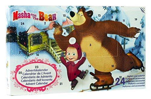Calendario de Adviento 2016 de Mascha y el oso, 1 unidad (1con 24piezas)