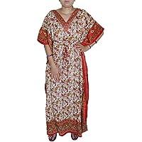 lungo stampato il vestito caftano abaya manica