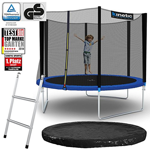 Kinetic Sports Outdoor Gartentrampolin Komplettset