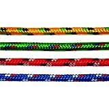 Multicord P/DPCA10 Cuerda de polipropileno/poliéster trenzada - Diámetro 9 mm - Largo 7,5 m - Colores surtidos