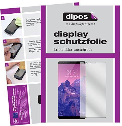 dipos I 6X Schutzfolie klar passend für ZTE Nubia Z17S Folie Bildschirmschutzfolie