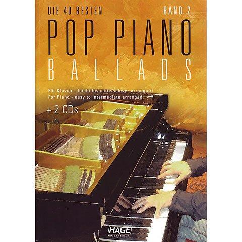Preisvergleich Produktbild Pop Piano Ballads 2. Klavier
