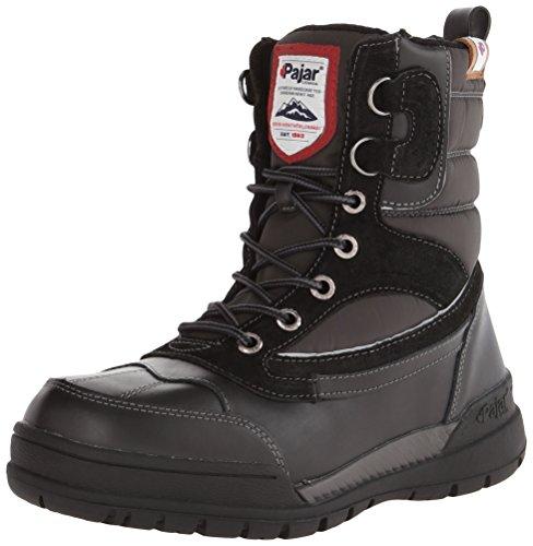 Pajar Bane da uomo seam-sealed impermeabile stivali da neve, nero (Black/Dark Grey), 45 EU-45,5 EU