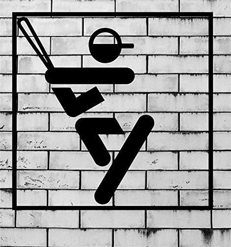 Wandaufkleber Schlafzimmer Baseball Baseballschläger Sport -