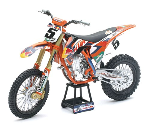 NEWRAY 49463 - Motorbike Red Bull Ktm 450 Sx-F 2014 Factory Racing Team, Scala 1:6