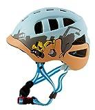 AWE DiggerTM Geformter Kinder-Fahrradhelm, für Jungs, 48 – 52cm, Blau