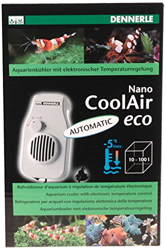 Cube Aquarium 25 (Dennerle 5663 Aquarienkühler Nano Cool Air Eco)