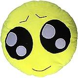 onecreation 35cm de suave con forma de emoticono amarillo cojín redondo almohada de peluche de felpa juguete muñeca–Cute Big Eyes