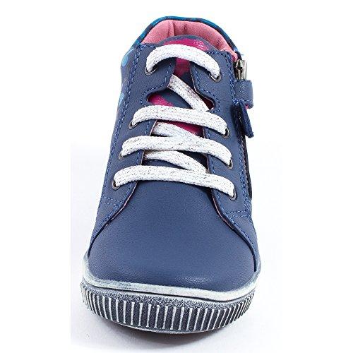 Agatha Ruiz de la Prada Boots bleu 151915A Bleu