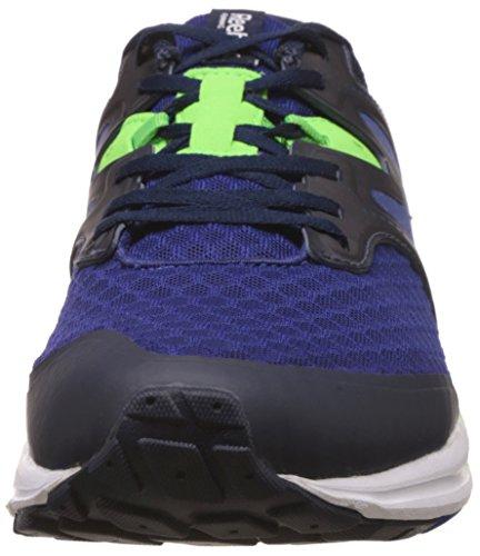 Reebok Exhilarun, Sneaker uomo Blu/verde/bianco/blu (Night Beacon/Coll Navy/Solar Grn/Wht/Blu)