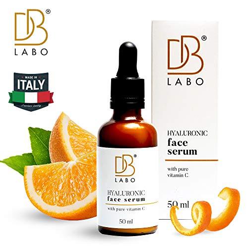 Siero viso quotidiano fortificante e rimpolpante con acido ialuronico e vitamina c
