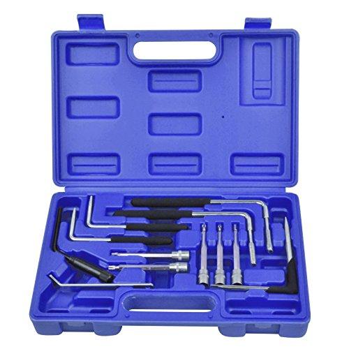 Generic Entferner Kit Werkzeug Set Auto Set Auto Airbag entfernen Torx Air Tasche Drehmoment Werkzeug Entferner Kit Airbag entfernen Torx (1/4 Dr Torx-bit)