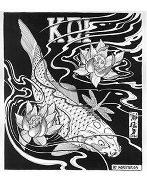 Livre de 50 références de carpes Koï Par Horimouja