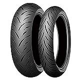 Coppia gomme pneumatici Dunlop GPR-300 120/70 ZR 17 58W 180/55 ZR 17 73W