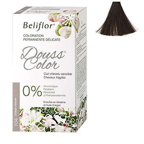 Beliflor - Coloration Dousscolor Châtain Naturel 131ml - 134Ml - Vendu par pièce - Livraison Gratuit en France