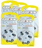 RAYOVAC Hörgeräte-Batterien 10 Extra Advanced 1,45V...