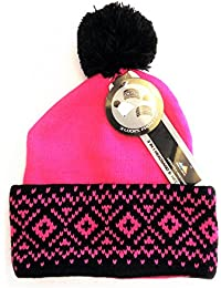 RockJock Ladies Knitted 3 In 1 Headband and Hat